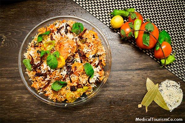 Hyderabad tourism-Chicken Biryani