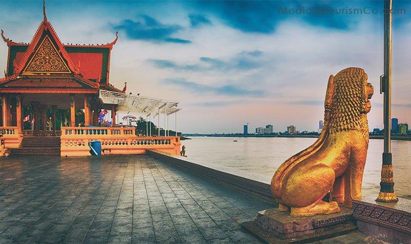 Phnom Penh Riverside-Tourism in Cambodia