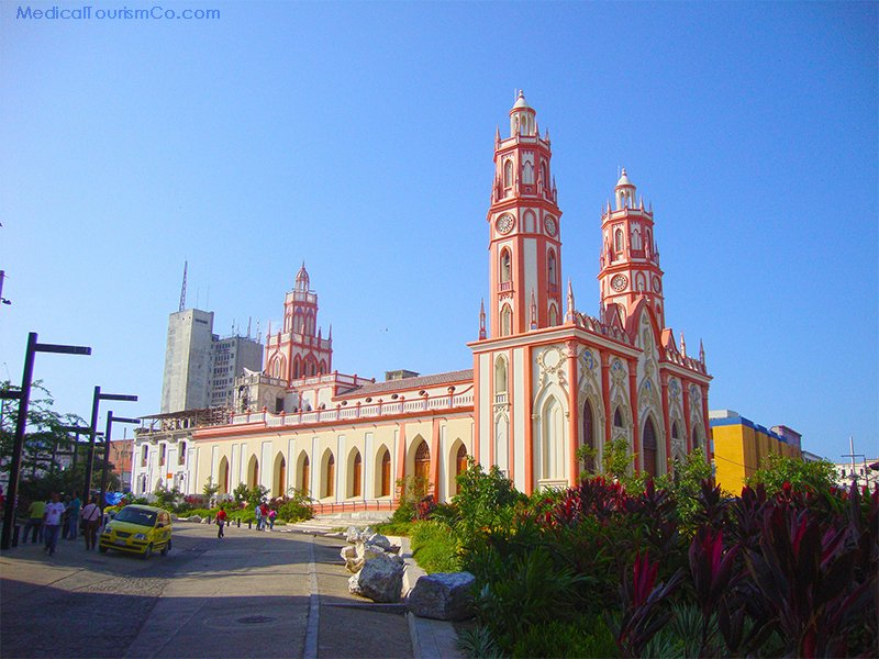 Dental Tourism in Barranquilla, Colombia- St. Nicholas Church