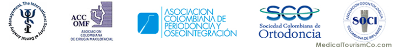 Dentists working at Dentica, Bogota are members of these associations.