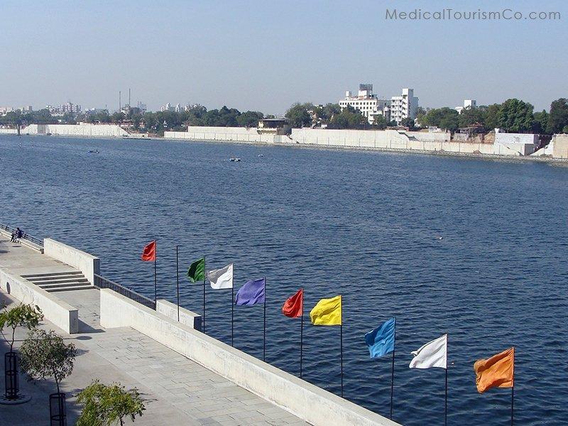 Sabarmati walkway Ahmedabad Gujarat