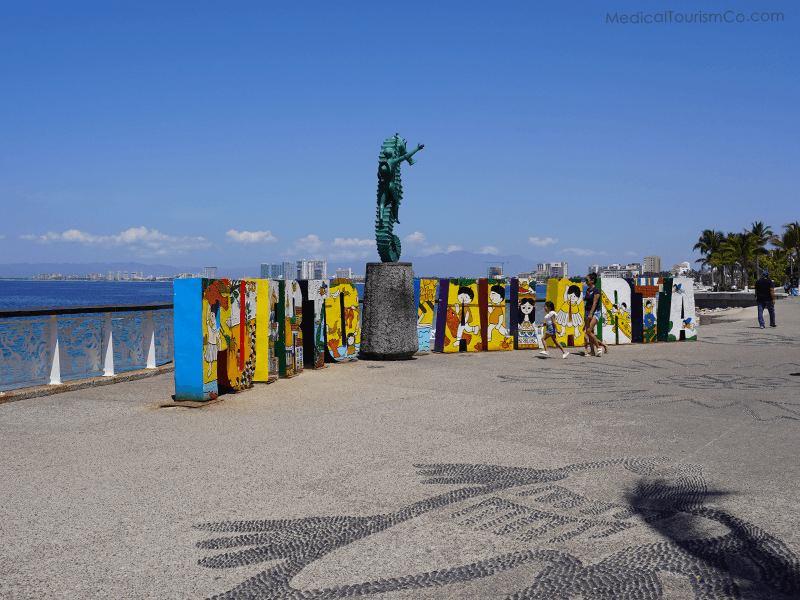 Seahorse Monument- Puerto Vallarta Dental Implants