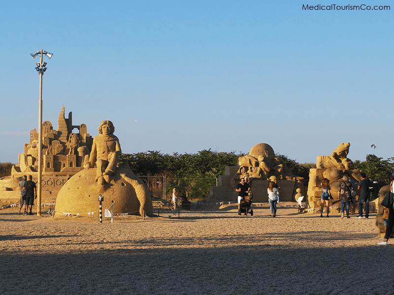 Bulgaria Sand Castle Festival- Dental Tourism in Bulgaria