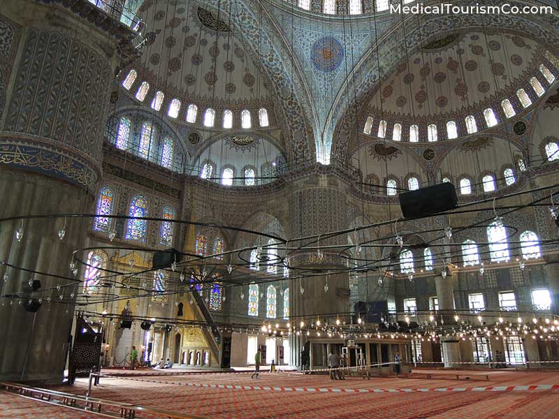 The Blue Mosqe | Dental tourism in Turkey