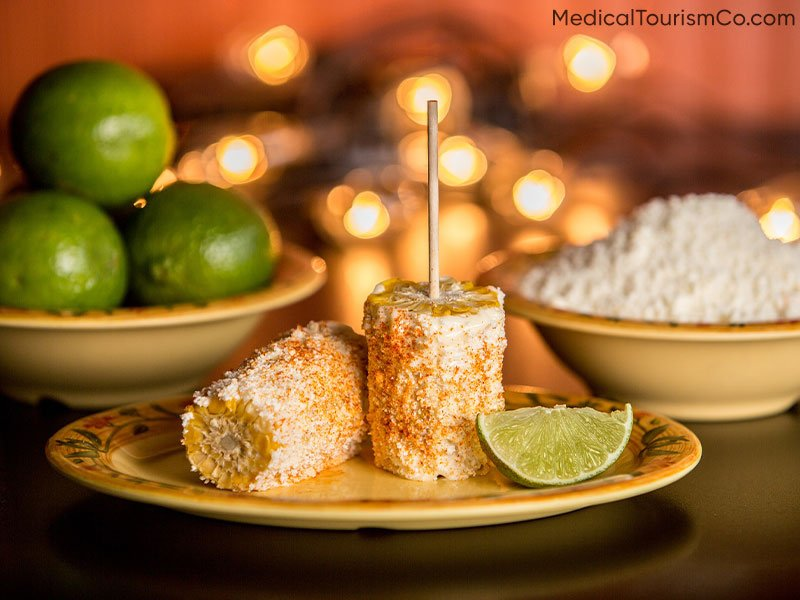 Food: Elote   Dental Tourism in Cabo