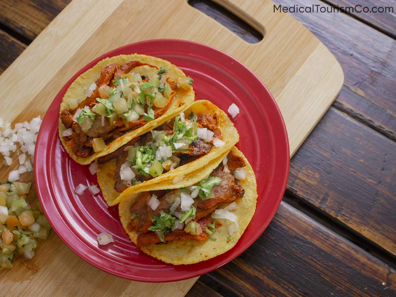 Food: Tacos   Dental Tourism in Cabo