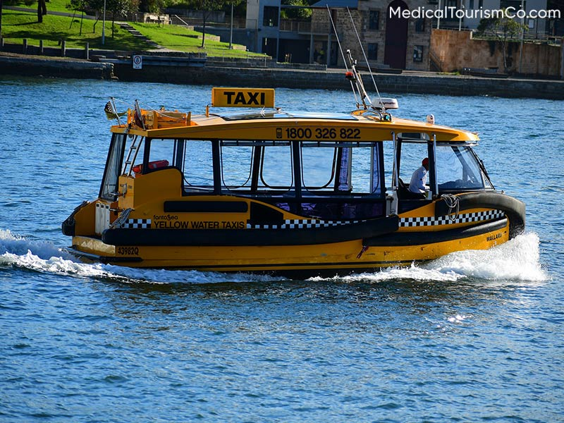 Water Taxi   Dental Tourism in Cabo